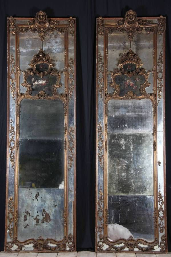 17 Images About Antique Mirrors On Pinterest Queen Anne