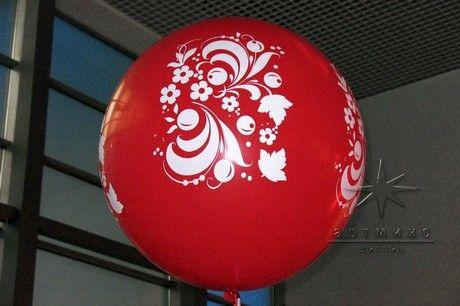 Праздничное оформление мероприятий. Интересное декорирование мероприятия с помощью шаров  в традиционной русской тематике