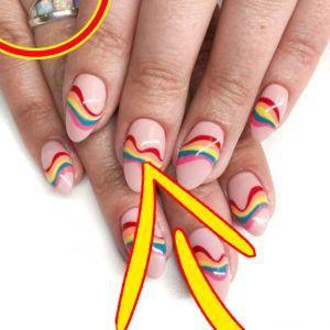 49 Regenbogen Nägel Ideen nur für Sie Nail Art 4u 49 Regenbogen Nägel Ideen nur für Sie