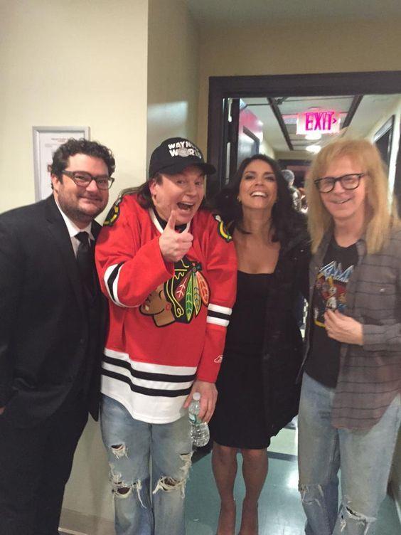 Bobby Moynihan, Mike Myers, Cecily Strong & Dana Carvey