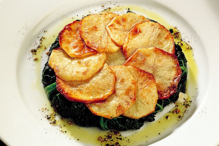 Tortino di patate e cavolo nero
