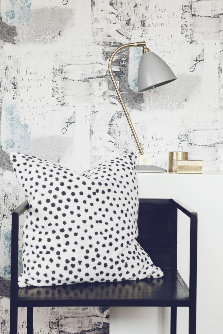 Blå tapeter : Borås tapet - Elegant
