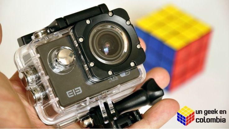 Elephone ELE Explorer 4K una cámara de acción económica para los momentos mas extremos