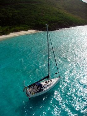 DUFOUR 34 Yacht in the BVI