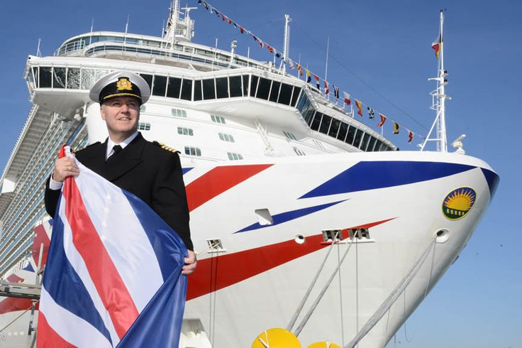 #P&O Cruises #Britannia. Captain Paul Brown. Southampton England March 6th 2015. Find out more at http://the-cruise-specialists.co.uk/c/ship-details-query/?client=the-cruise-specialists&nShp=578&nLin=21&nOperator=P+and+O