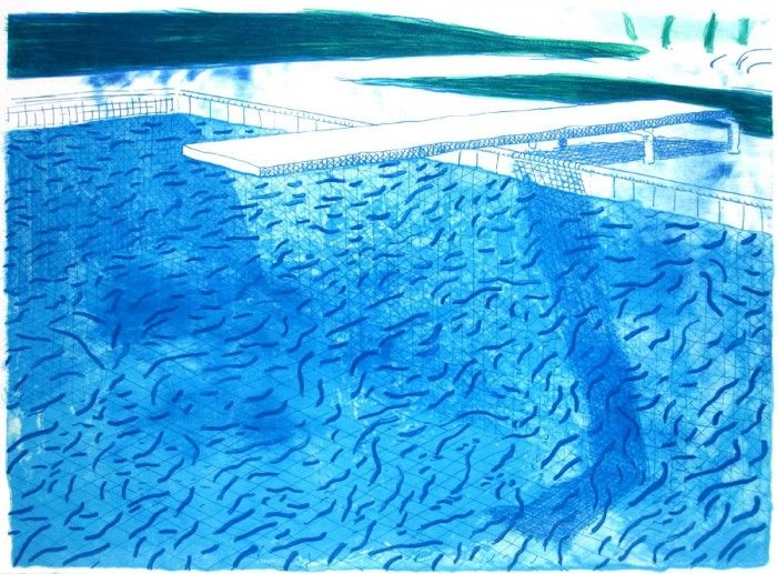 Swimming Pool Painters : David hockney pool google search art images