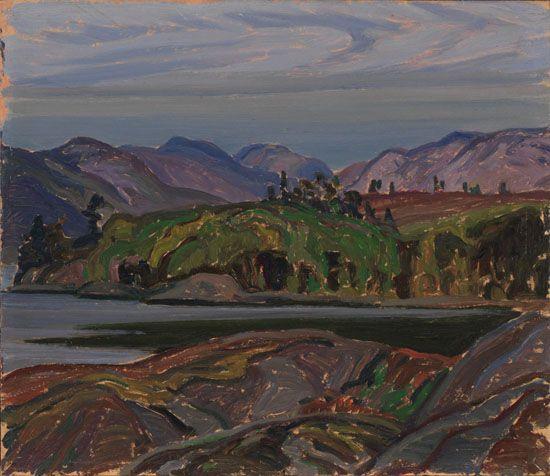Franklin Carmichael - La Cloche 10 x 11.75 Oil on board (1939)