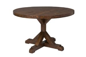 Bavaria Round Dining Table - Coffee Bean