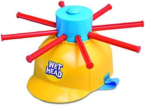 Sports H2O Wet Head Gambling Party Games Jokes Toys Gags Helmets Water Container #Zing