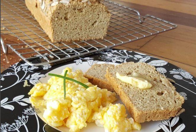 Pão low carb Paleo de farinha de amêndoas