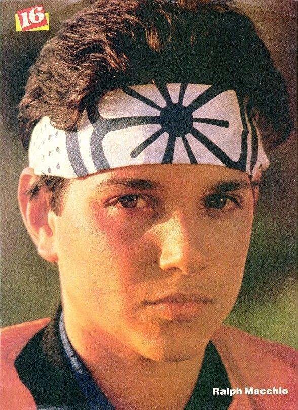 Karate Kid... ¡Me encantaba Ralph Macchio!