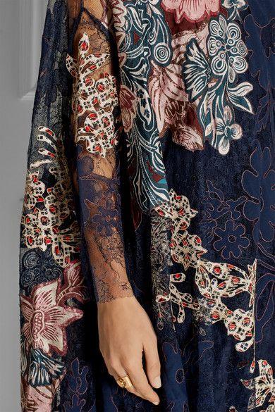 Biyan   Levia embellished appliquéd lace dress   NET-A-PORTER.COM