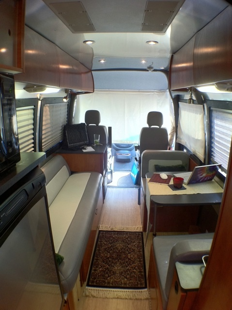 49 best images about airstream interstate and roadtrek on for Mercedes benz camper van rental