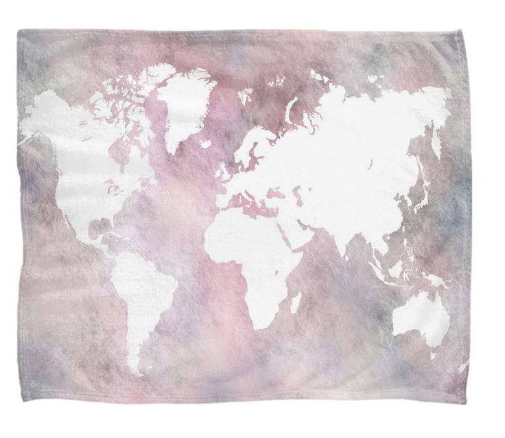 Viac ako 25 najlepch npadov na pintereste na tmu world map free interactive world map with activities throw blanket sherpa fleece blanket sofa throw design 66 or 68 pink blue gumiabroncs Images