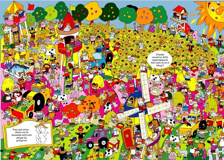 Por si te aburres, puedes buscar los personajes ocultos... E :)