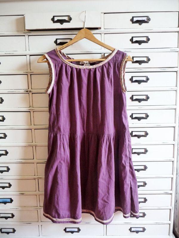 recyclage transformer une jupe longue en robe. Black Bedroom Furniture Sets. Home Design Ideas