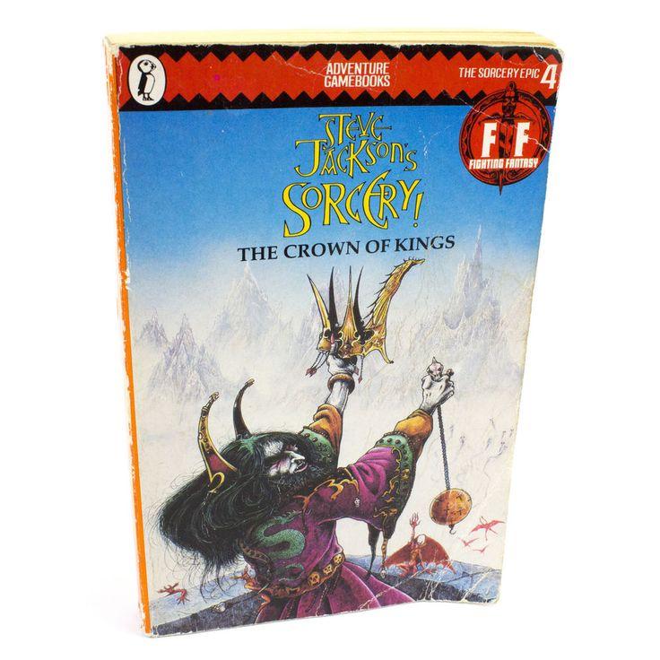 Fighting Fantasy Steve Jackson's Sorcery: Crown of Kings Paperback Book