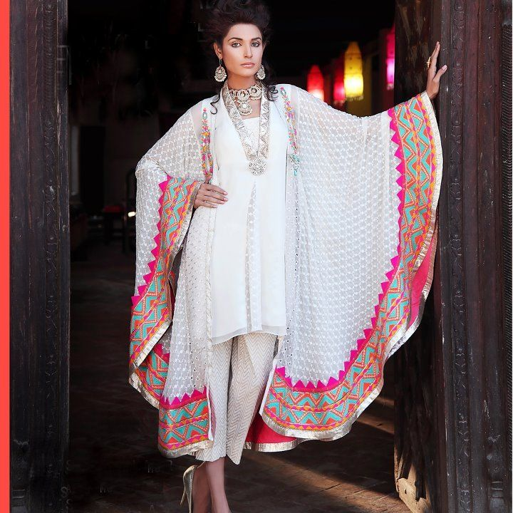Soooooooo Love this. Latest Pakistani Indian formal Shalwar Kameez with Trouser / Churidar Pajama  www.anabellas.com