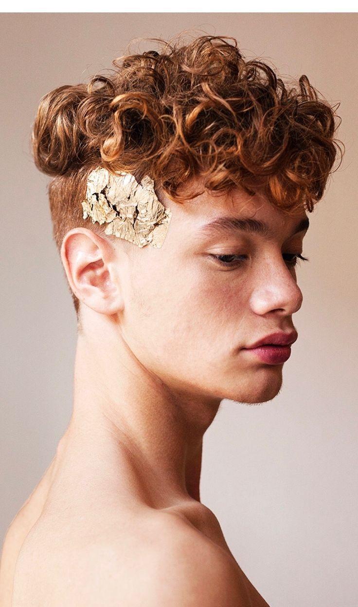 Porträtfotografie Inspiration: Pose. Gesicht. Haar. Männlich. Gold. Referenz