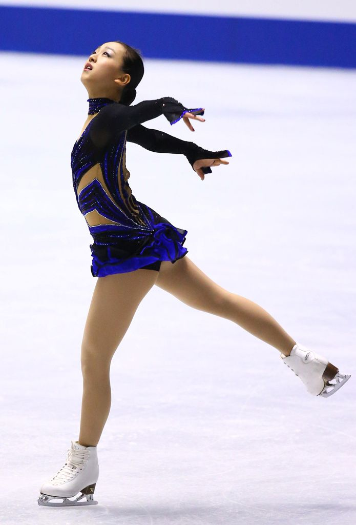 best figure skating images figure skating ice iceskaterforlife ldquo tokitama ldquo mao asada nhk trophy 2013 rdquo i knew this dress was a reuse but i couldn t exactly recall when untill i found figure skating
