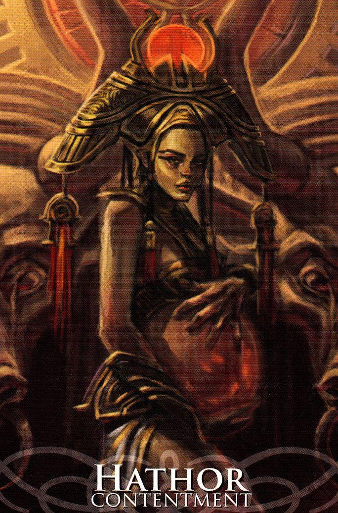 Hathor deusa do amor e da maternidade
