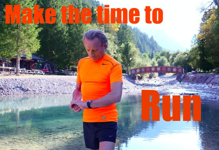 Make a date and time to run