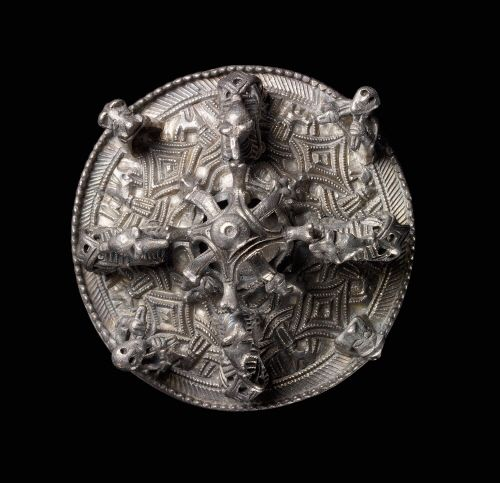 Viking age / Silver disc brooch/Gotland