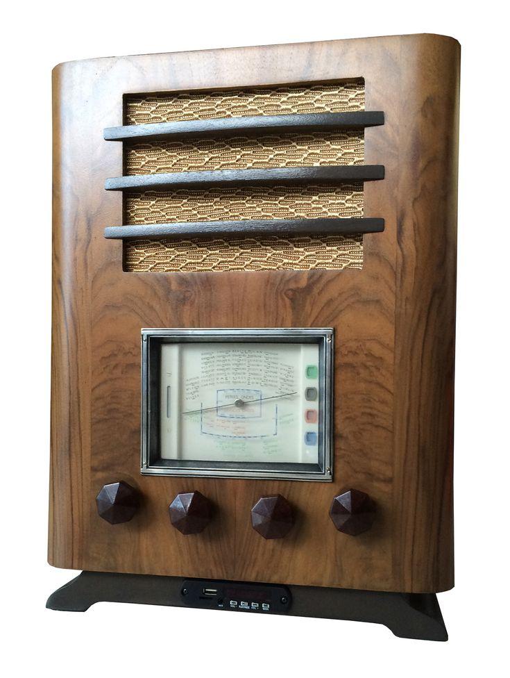 Radio TSF vintage Antique Electric Radio France ERF 30's