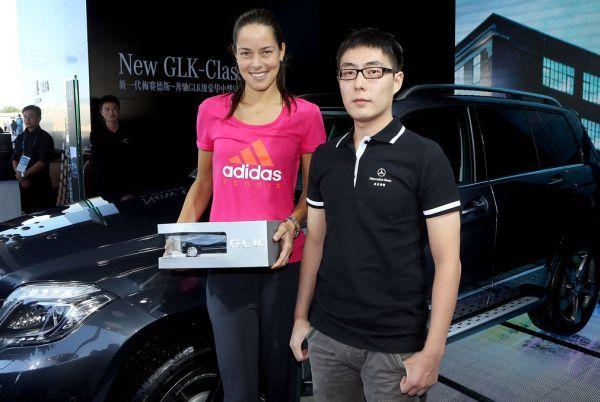 Ana Ivanovic la o actiune Mercedes in Beijing