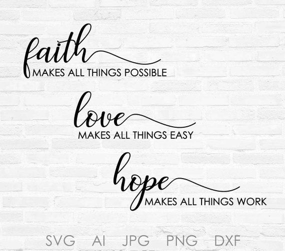Quote Wood Sign Have faith in what will be SVG Quote Clipart Quote for Cricut Silhouette Craft Design Large Wall Art Saying to Print