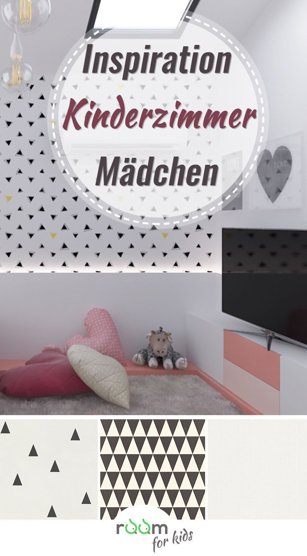 Ein Kinderzimmer Fur Madchen Im Minimalistischen Stil Kinderzimmer Fur Madchen Kinderzimmer Tapete Kinder Tapete