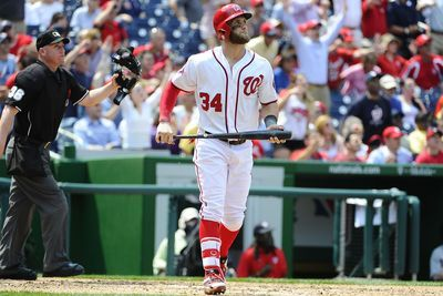 Nationals 7-5 over Marlins: Bryce Harper hits three home runs off Tom Koehler