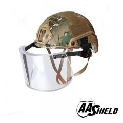 [ $200 OFF ] Aa Shield Ballistic Ach High Cut Tactical Safety Helmet Bulletproof Glass Mask Body Armor Aramid Core Nij Iiia 3A Kit Mc