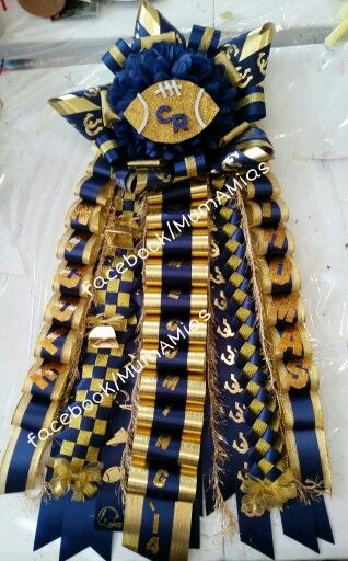 Cy Ranch Homecoming garter. Let me create your unique homecoming mum or garter. I ship orders, too.