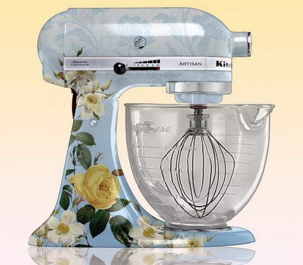 1000 images about mixers on pinterest kitchenaid professional 600 kitchen aid mixer and - Decorated kitchenaid mixer ...