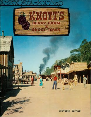 """knotts berry farm in the 1960s 