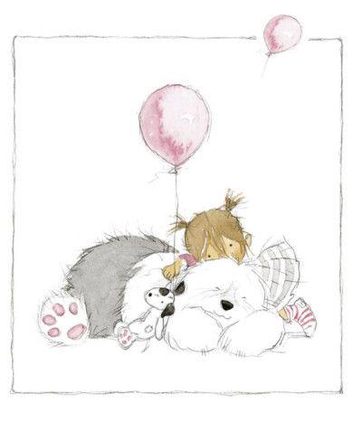 Children's World III Art Print by Annabel Spenceley ~ love this print, it's my favorite