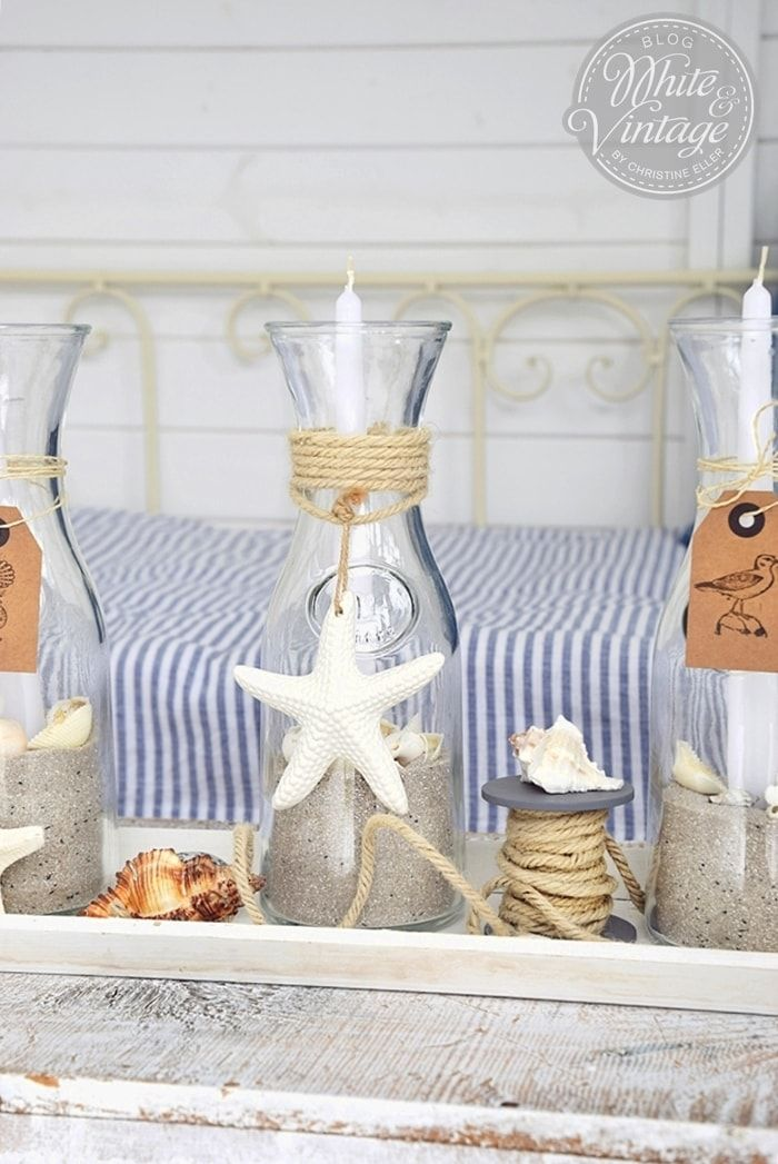 DIY - maritime Sommerkerzen (Diy Candles)