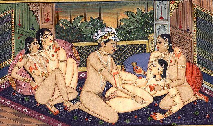 8. Old Kamasutra Painting