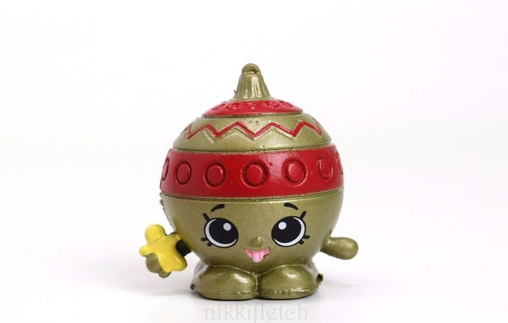 Shopkins Christmas Gold Ornament Shopkin Holiday Ornament Series  #MooseToys #Shopkins