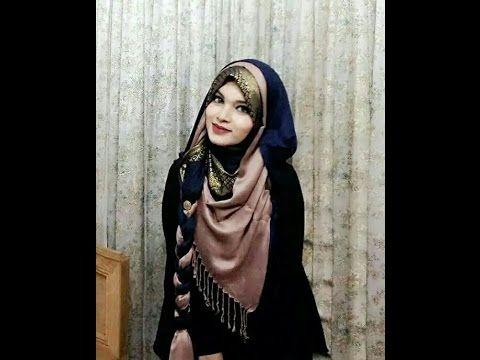 classic braided hijab tutorial   Farzana Alin    styline 