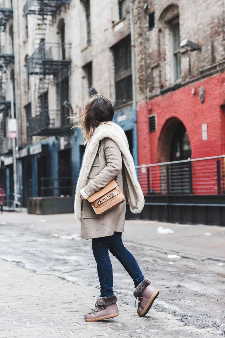 New_York_Fashion_Week-Fall_Winter_2015-Asos_Beige_Coat-Faux_Fur_Scarf-Ikkii_Boots-Winter_Outfit-Street_STyle-NYFW-Collage_Vintage-Maje_Sweater-3