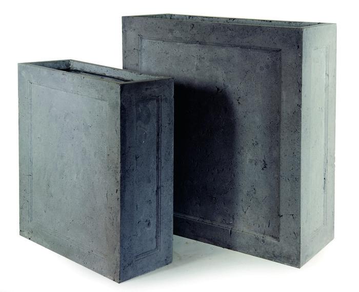 Donica ogrodowa ceramiczna 60X25X72, Miloo Home - Wyposażenie wnętrz