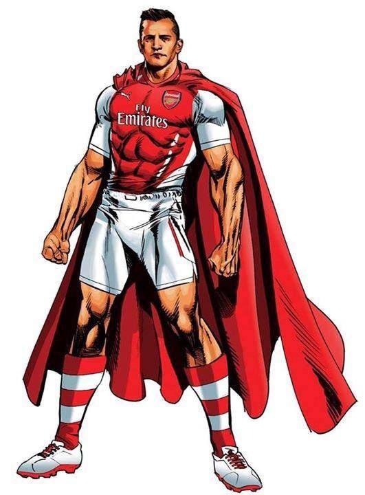 Super Alexis Sanchez