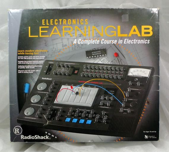 Radio Shack Electronics Learning Lab 28 280 Kit A Complete Course In Electronics Free Ship Radio Shack Learning Electronics Projects