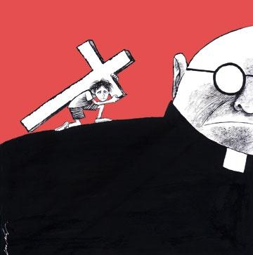 """Que la pedofilia entre los sacerdotes católicos fuese un vicio en todo el mundo se sabia y se sabia también que la Iglesia habia, sistematicamente, tratado de encubrir todos los posibles casos de denuncias. Lo que no se sabia es que los obispos de todo el mundo en vez de denunciar y expulsar a los sacerdotes pedofilos, los transferian de una parroquia a la otra y además que se comportaran de este modo por un verdadero decreto central, tan rigido cuanto detallado, llamado """"Crimen…"""