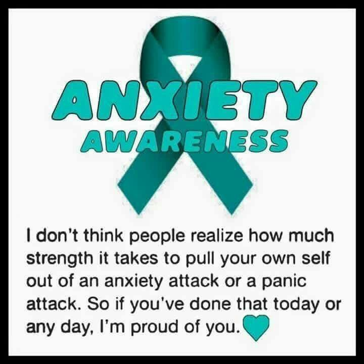 Anxiety Awareness.                                                                                                                                                                                 More