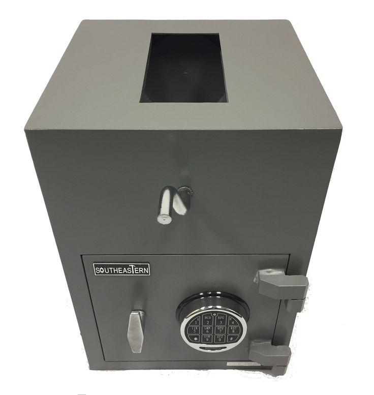 SOUTHEASTERN Top Loading Drop Safe with Quick Digital Lock