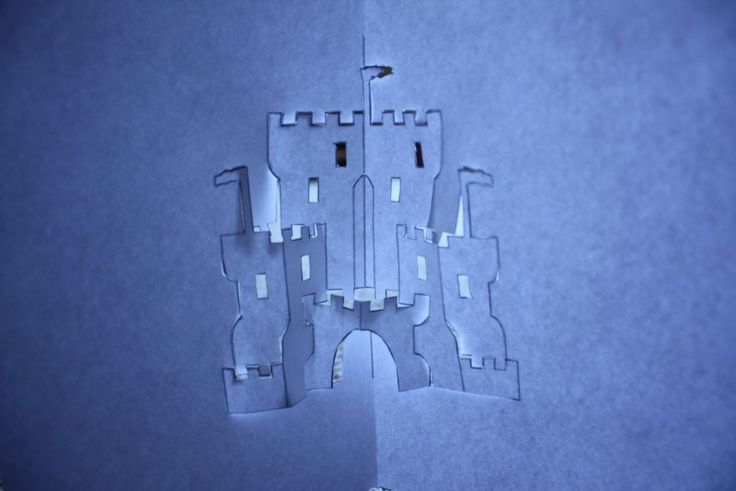 4 Easy Steps to Make Art for Kids of Origami Architecture Castle