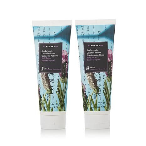 Korres Body Butter Duo - Sea Lavender